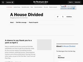 A House Divided - The Washington Post