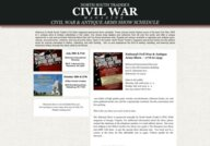 North South Trader's Civil War & Antique Arms Show Schedule