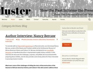 Muster: Blog of the Journal of the Civil War Era