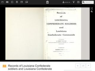 Records of Louisiana Confederate soldiers and Louisiana Confederate commands Volume 2, Part 2