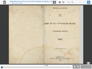 Regulations for the Army of the Confederate States, 1862