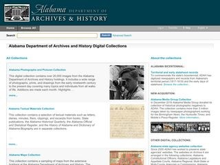 Alabama Department of Archives & History Digital Collection