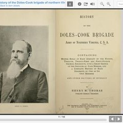 History of the Doles Cook Brigade of the Army of Northern Virginia