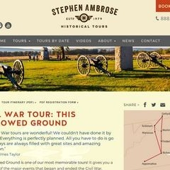 Stephen Ambrose Historical Tours