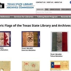 Historic Flags of the Texas State Library and Archives