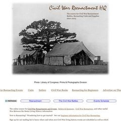 Civil War Reenactment Headquarters