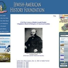 Civil War Letters of Rabbi Arnold Fischel,  Chaplain to Board of Delegates of American Israelites