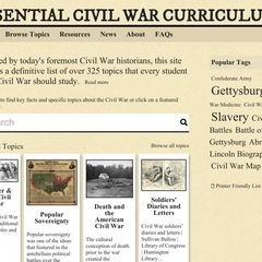 Essential Civil War Curriculum