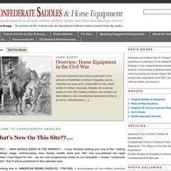 Confederate Saddles & Horse Equipment